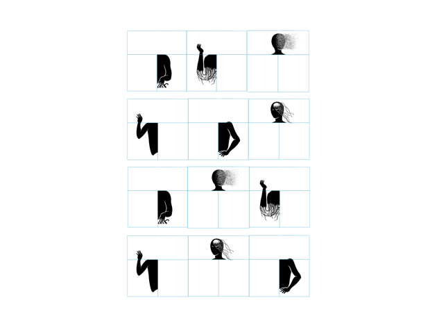 The Guilty Hand Font –  de Rubén Núñez Chumillas, 3r Premio Acento G