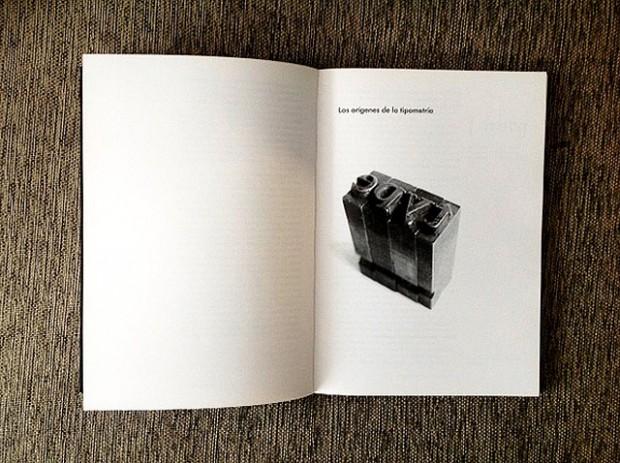 Miguel Catopodis autor del libro Tipometría editado por  Campgràfic