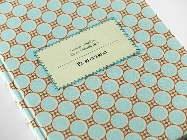 Cuentos completos, proyecto editorial en el que la diseñadora Laia Guarro reinterpreta los textos de Carmen Martón Gaite