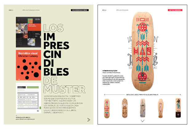 la 1ª revista para iPad sobre diseño gráfico