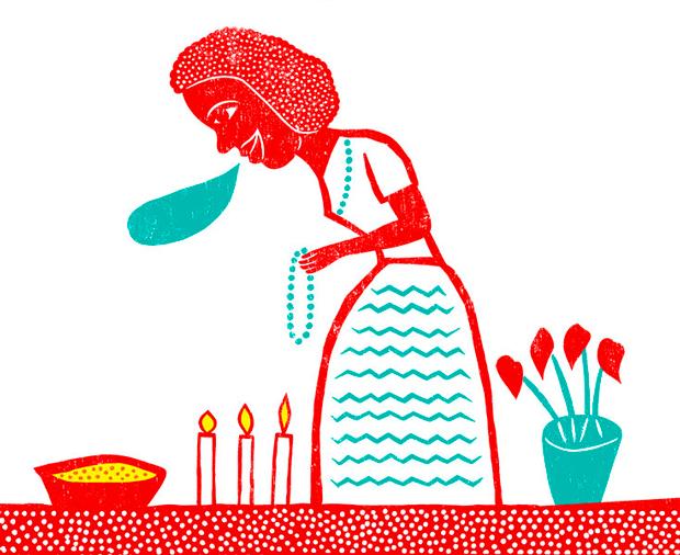 ilustración infantil de Flavio Morais