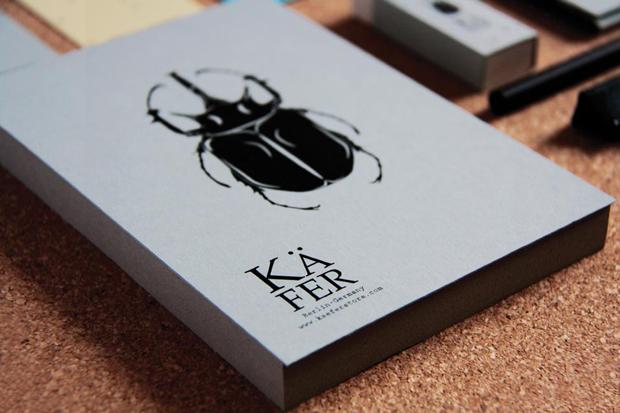 Kafer diseño de branding