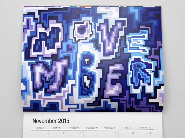 noviembre - calendario ilustrado