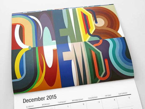 diciembre – calendario ilustrado