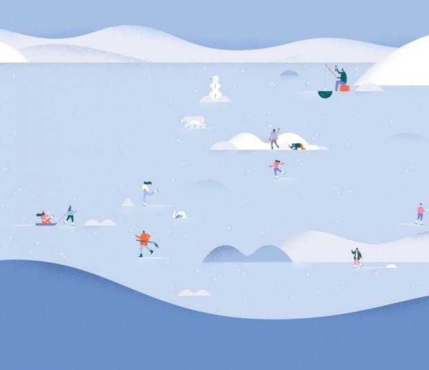 ilustraciones del nuevo Google Calendar