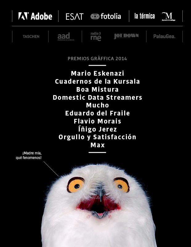 1x1.trans Los 10 Premios Gràffica 2014 son...