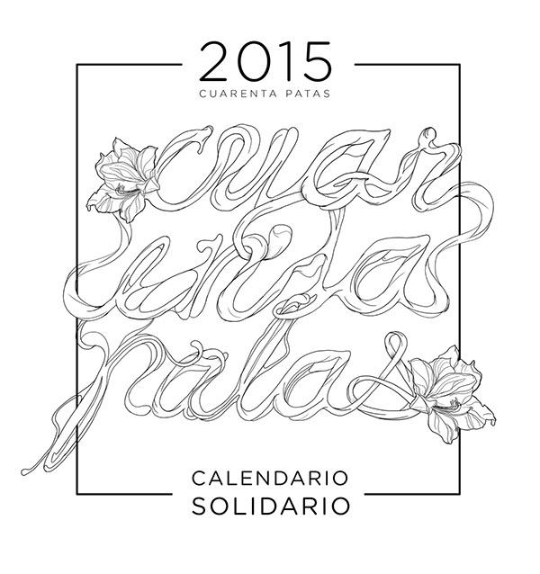 Juanjo Rivas – calendario solidario