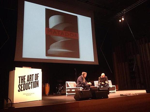 Fernando Gutierrez y Mario Eskenazi en Blanc Festival