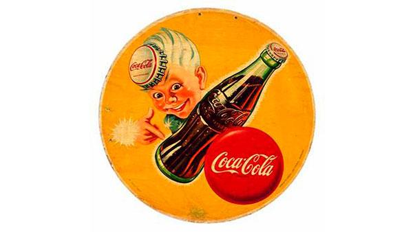 Cartel de Coca-Cola – Gráfica publicitaria y relaciones comerciales España / USA. carteles vintage de 1890 a 1961