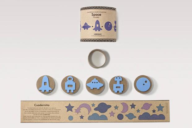 Cuaderniños: la magia jugar con papel, la tinta y la ilustración