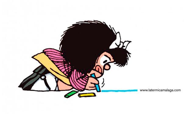 Homenaje a Mafalda en su 50 aniversario en La Térmica de Málaga