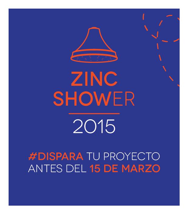 Zinc Shower 2015 busca proyectos creativos