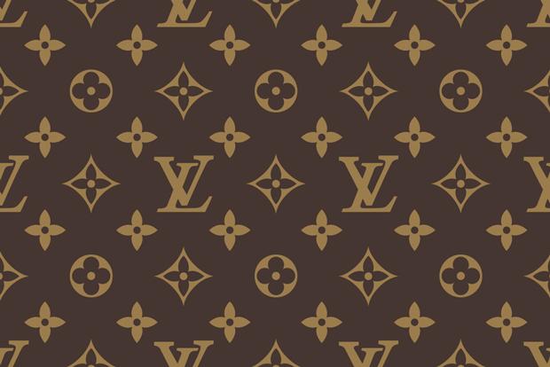 ae7e3c412 pattern de motivos florales, ornamentos y Monogram de Louis Vuitton por  Claude Mediavilla