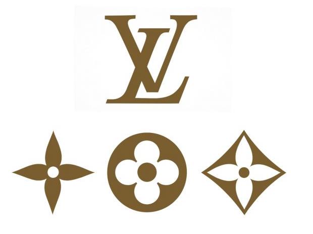 motivos florales, ornamentos y Monogram de Louis Vuitton por Claude Mediavilla