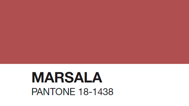 color del a o 2015 pantone marsala 18 1438. Black Bedroom Furniture Sets. Home Design Ideas