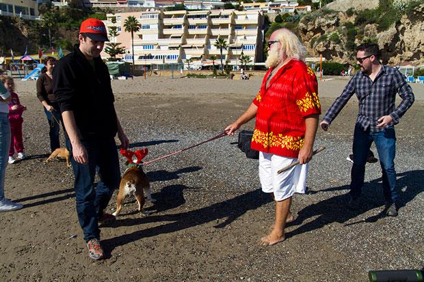 el Santa Claus español vive en Torremolinos y se llama Jorge Juan Díaz Cabrera