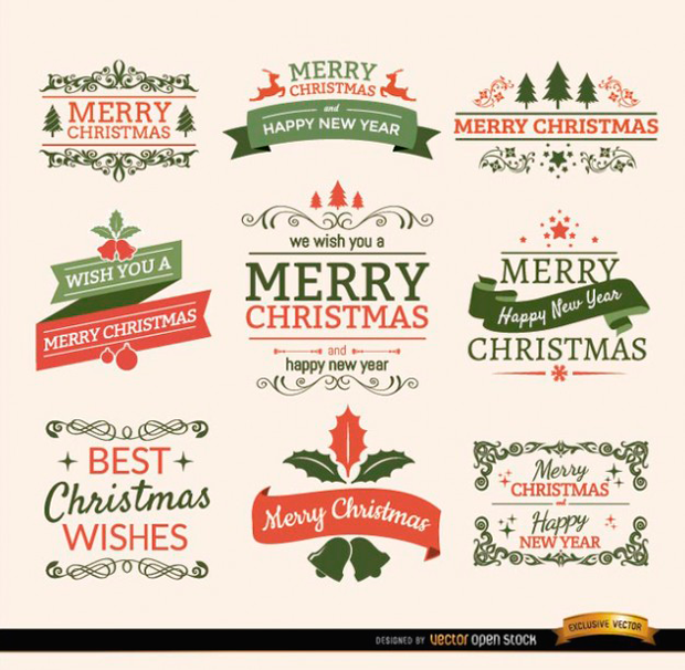Freepik recursos gráficos gratuitos con motivos navideños