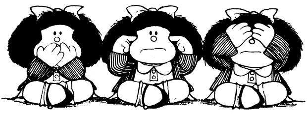 Mafalda, personaje dibujado por Quino