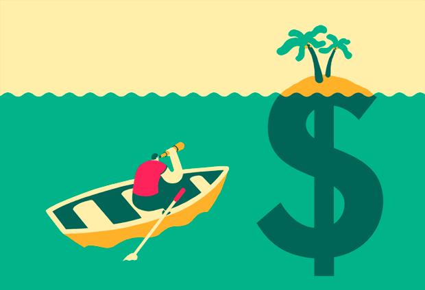 Magoz - ilustrador nómada – ilustración rediscovering mutual funds