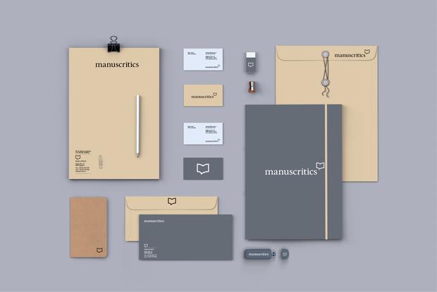 Manuscritics-diseño papelería por Erretres