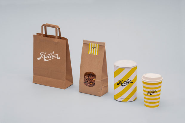 Mother, zumos cold pressed con branding artesanal de Mucho