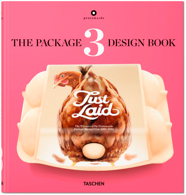 El mejor packaging del mundo. Portada The Package Design Book 3 editado por Taschen