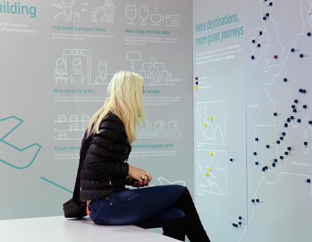 Ico Design desarrolla el rebranding del aeropuerto de Luton en Londres
