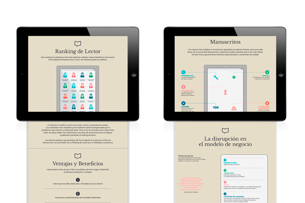 Manuscritics - diseño web por Erretres