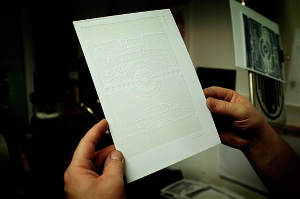 calendario tipográfico impreso en una Heidelberg de Mr Cup