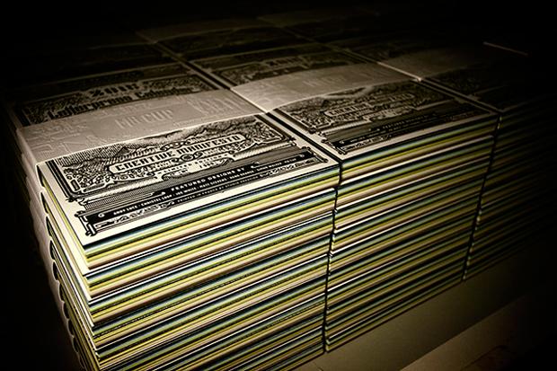 calendario tipográfico 2015 impreso en una Heidelberg de Mr Cup