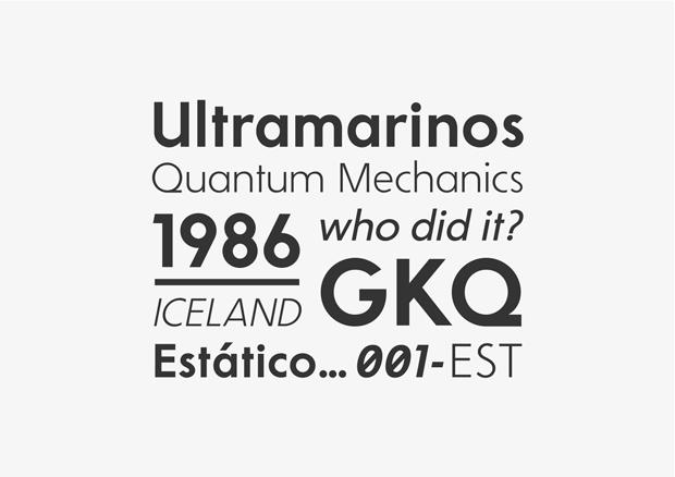 Nordiak Grotesk, nueva familia tipográfica de Makarska Estudio