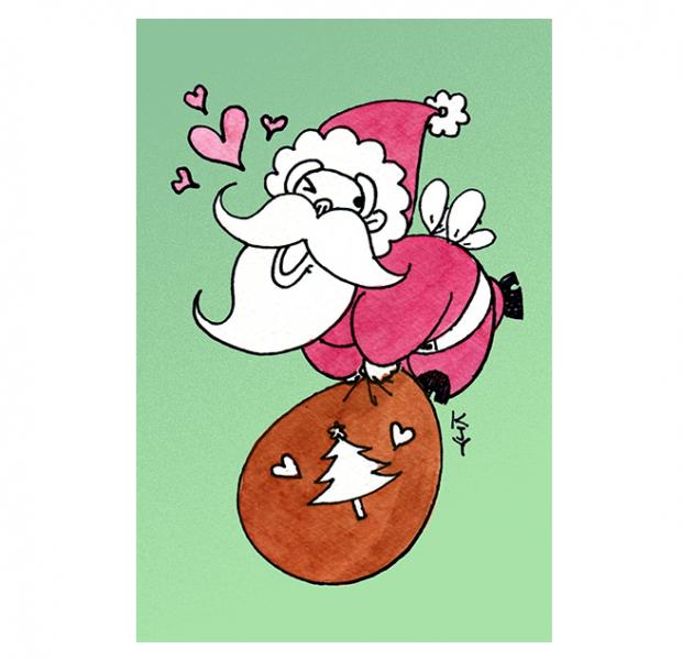 Entre lo irónico, lo friki y lo bizarro topamos con la serie de Christmas del coreano Karen Jiyun Sung