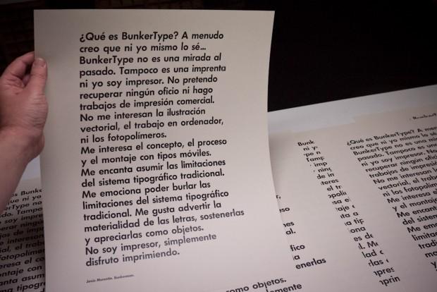 BunkerType, una verdadera declaración de amor tipográfico