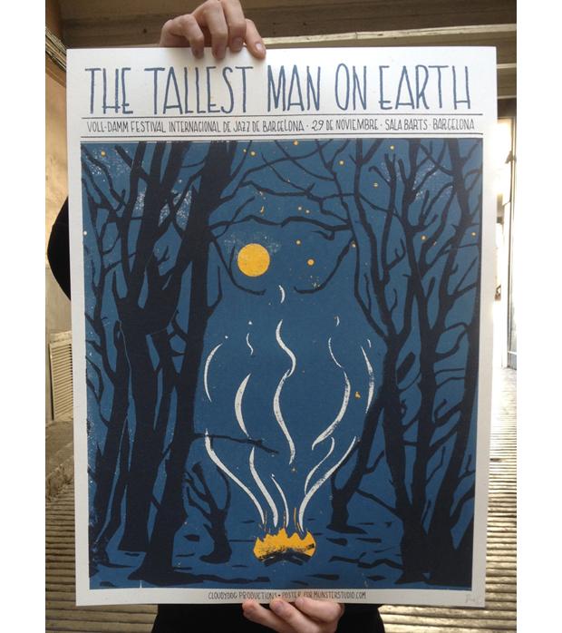 Tallest – cartel de concierto