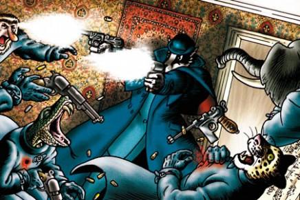 Grandville Bête Noire, de Bryan Talbot. Las aventuras retrofuturistas del inspector Lebrock