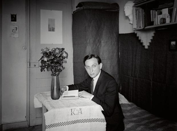 Autorretrato del fotógrafo André Kertész