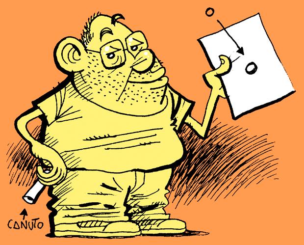 Bernardo Vergara dibujante en Orgullo y Satisfacción