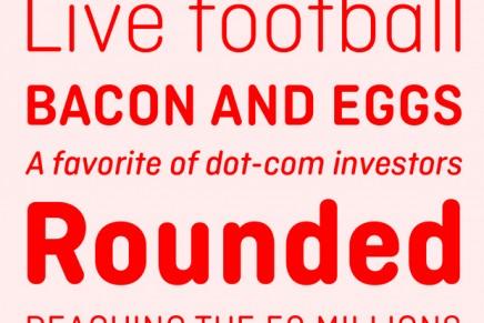 Ciutadella Rounded, nueva familia tipográfica de Eduardo Manso