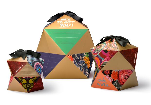 Nice to gift you! Un pack regalo diseñado por Knock que respira el estilo Desigual