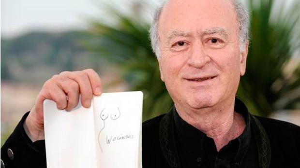 Georges Wolinski dibujante de Charlie Hebdo