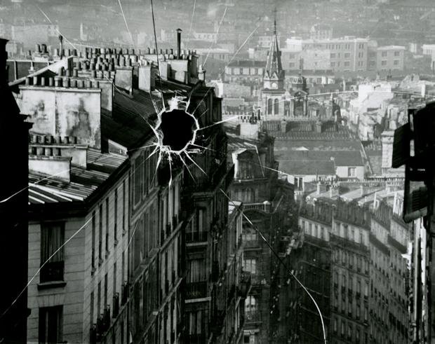 Palaca rota, París, 1929, fotografía de André Kertész