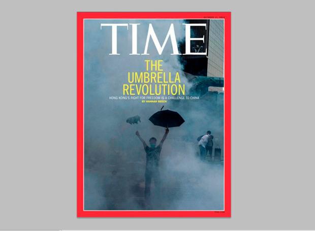 Xaume Olleros, portada para la revista Time, octubre de 2014