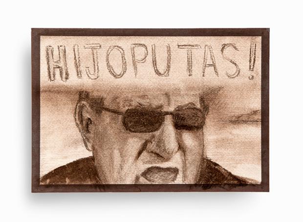 Pieza de Antonio Franco en honor a Carlos Fabra, político corrupto. Politicians For Change