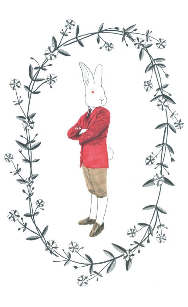 Caza de Conejos. 24 ilustraciones originales de Sonia Pulido en La Fiambrera