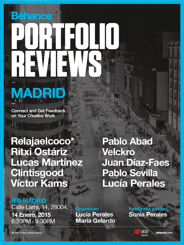 Behance Portfolio Reviews – Madrid 2015
