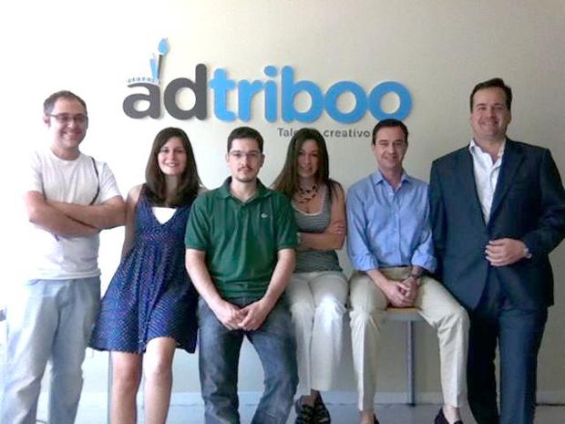 Equipo de Adtriboo tras anunciar la ampliación de capital en 1 millón de euros