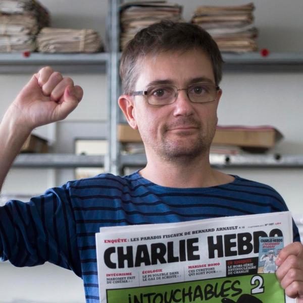 el dibujante Stéphane Charbonnier, Charb,