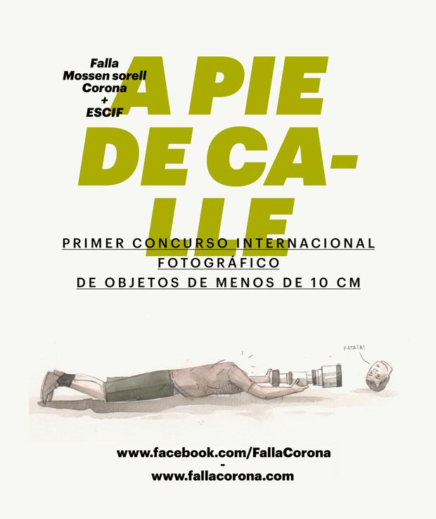 Escif y Falla Corona convocan 1er Concurso Fotográfico Internacional de objetos de menos de 10 cm