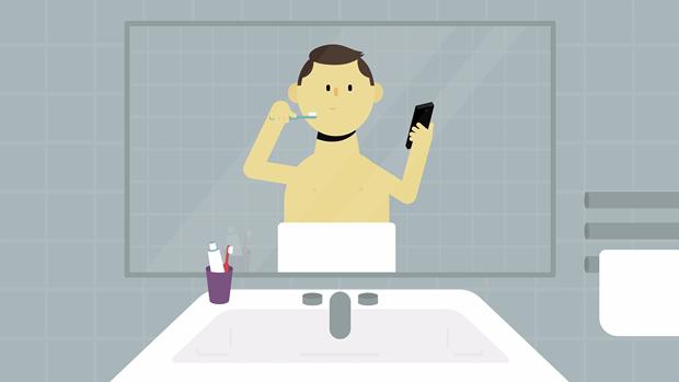 La obsesiva fijación por el teléfono móvil de Mr. Selfie