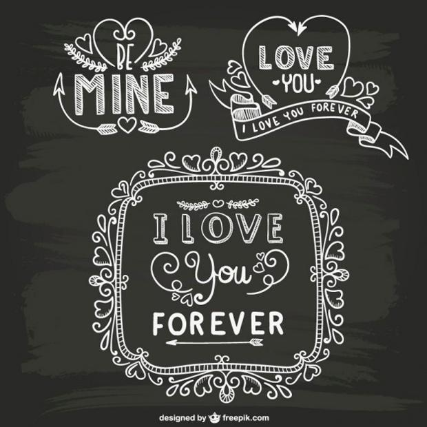 5 recursos gráficos para San Valentine